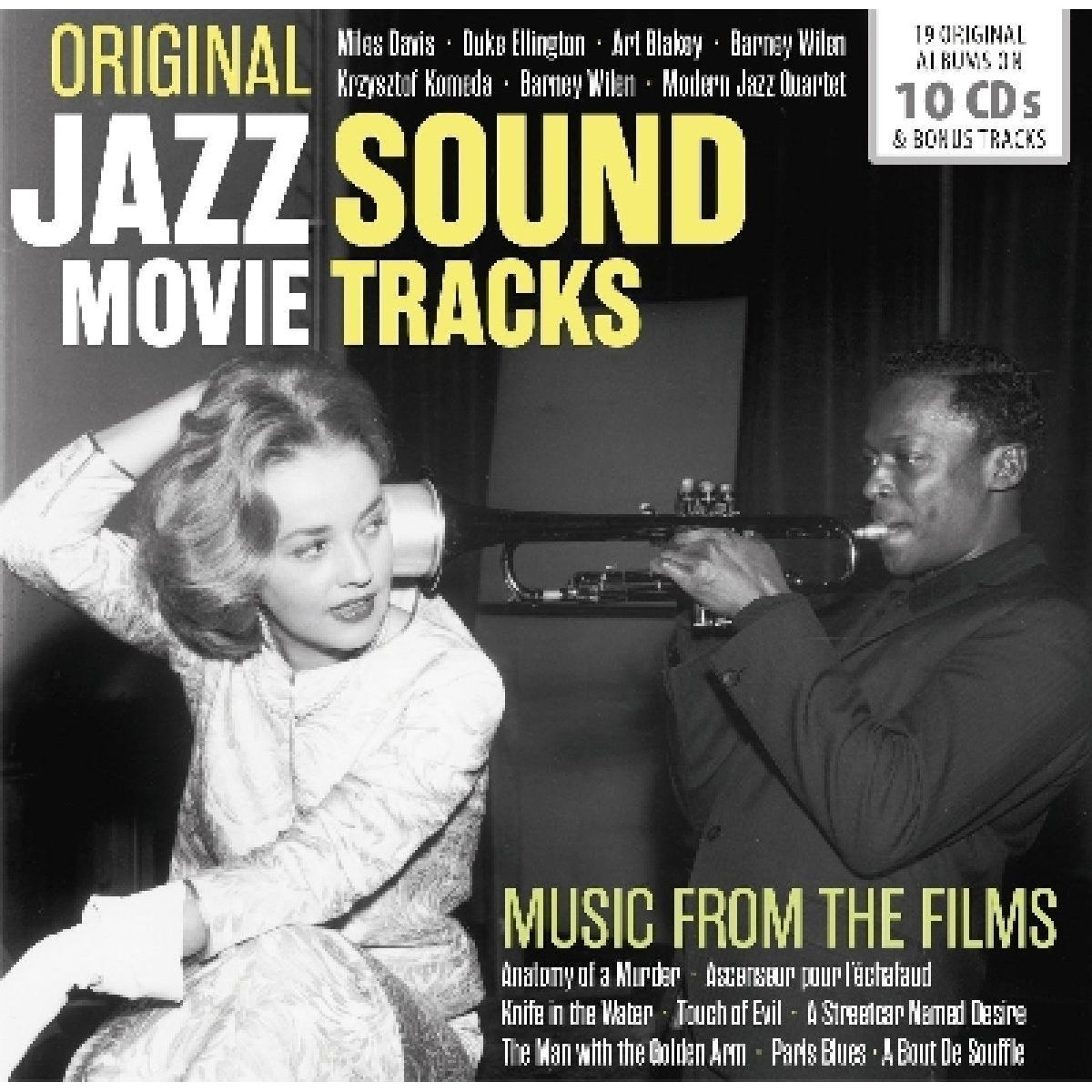 ORIGINAL JAZZ MOVIE SOUNDTACKS BOX SET - CD | Discobole.gr