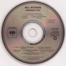 GREATEST HITS (WITHERS BILL)