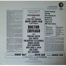 DOCTOR ZHIVAGO ORIGINAL SOUNDTRACK ALBUM