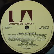 READY AN' WILLING