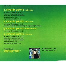 CORAZON PARTIO CD SINGLE