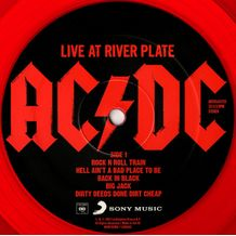 LIVE AT RIVER PLATE (COLOURED VINYL)