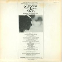 MANCINI PLAYS THE THEME FROM LOVE STORY