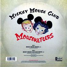 MICKEY MOUSE MARCH B/CLUB MARCH 10''(PICTURED)