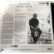 KIND OF BLUE ( BLUE VINYL - SONY/LEGACY)
