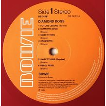 DIAMOND DOGS (LP LIMITED RED)