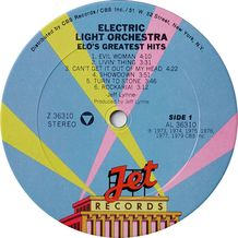 ELO'S GREATEST HITS ( USA COPY )