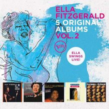 5 ORIGINAL ALBUMS VOL.2  ELLA SWINGS LIVE