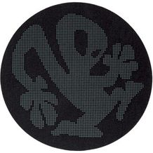2x Slipmats - Plasticman Dots - Black & White