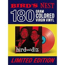 BIRD & DIZ - RED VINYL - 180 GRAM EDITION