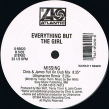 MISSING - THE BOOTLEG MIXES