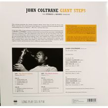 GIANT STEPS - STEREO & MONO EDITIONS