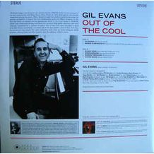 OUT OF THE COOL - 180gr./ Photographs By William Claxton/ Gatefold Sleeve