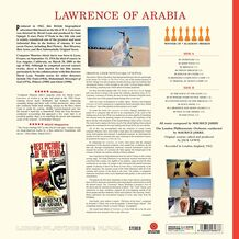 LAWRENCE OF ARABIA - TRANSPARENT RED VINYL LTD EDITION
