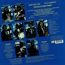 THE BLUES BROTHERS - OST - BLUE VINYL EDITION