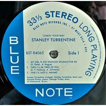 COMIN'YOUR WAY - TONE POET SERIES BLUE NOTE