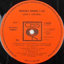 WEDNESDAY MORNING 3 AM - ( COPY MADE IN ENGLAND)