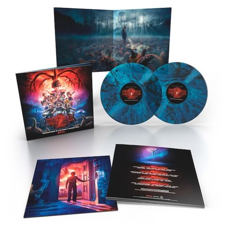 STRANGER THINGS : MUSIC FROM THE NETFLIX ORIGINAL SERIES (2LP)
