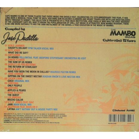 CAFE MAMBO IBIZA 09 - COMPILED BY JOSE PADILLA