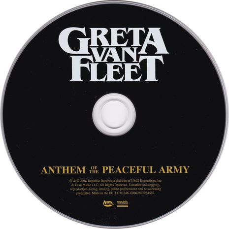 ANTHEM OF THE PEACEFUL ARMY
