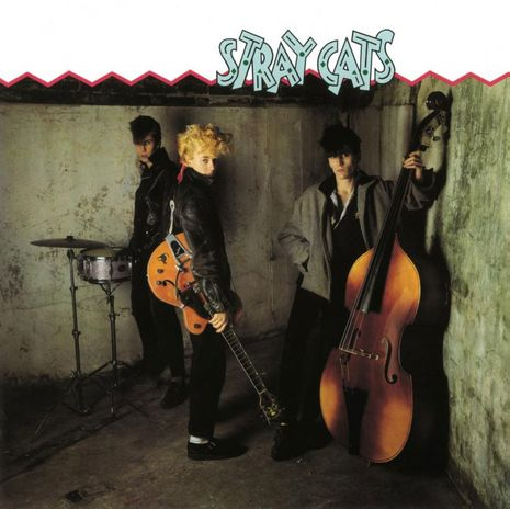 STRAY CATS ( TURQUOISE LIMITED EDITION NUMBERED)
