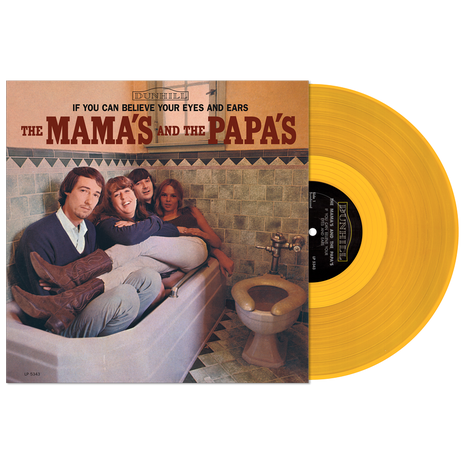 IF YOU CAN BELIEVE YOUR EYES AND EARS - GOLD VINYL LTD EDITION
