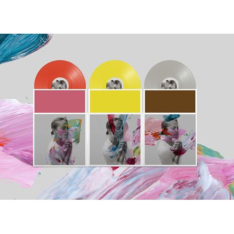 I AM EASY TO FIND ( TRIPLE VINYL (RED/YELLOW/GREY )