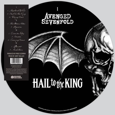 HAIL TO THE KING (PICTURE DISC )