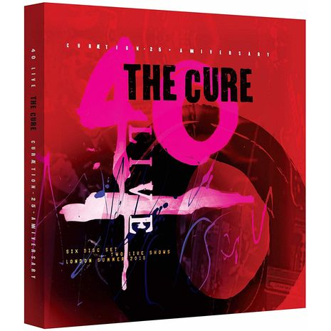 CURAETION 25 (LIMITED DELUXE BOX 2BLU RAY + 4CD)