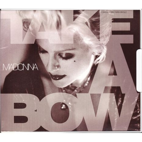 TAKE A BOW - USA CD MAXI