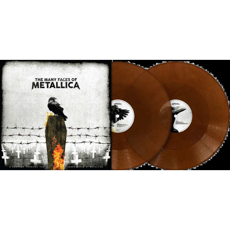 MANY FACES OF METALLICA (TRANSPARENT BROWN VINYL)
