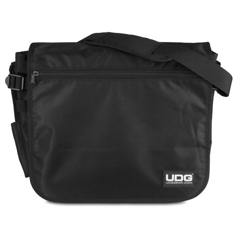 U9450BL/OR UDG Ultimate CourierBag Black/Orange Inside