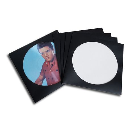 PICTURE DISC LP COVER BLACK DELUXE