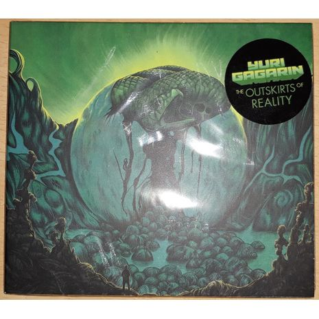 THE OUTSKIRTS OF REALITY - DIGIPACK