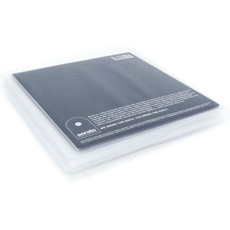 ZOMO 7 INCH VINYL PROTECTIVE COVERS - PACKET OF 100 PCS