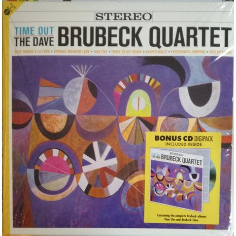 TIME OUT - 180 Gr. Incl. CD Containing Time Out + Brubeck Time