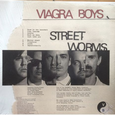 STREET WORMS - CLEAR VINYL EDITION