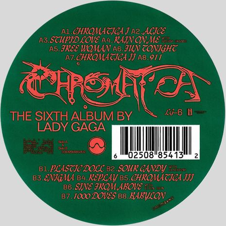 CHROMATICA PICTURE DISC LIMITED EDITION