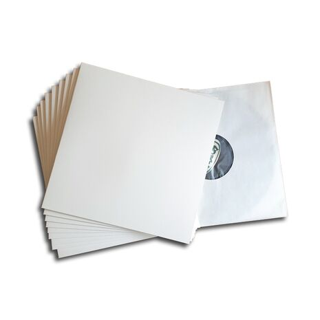 LP COVER WHITE DELUXE