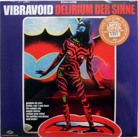DELIRIUM DER SINNE-30TH ANNIVERSARY LIMITED EDITION COLOURED VINYL