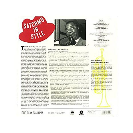 SATCHMO IN STYLE