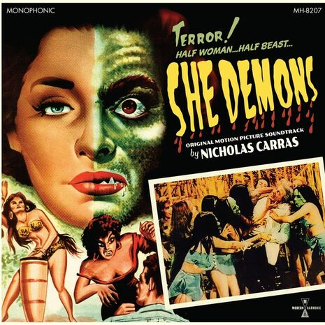 SHE DEMONS - GREEN VINYL EDITION