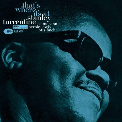 THAT'S WHERE IT'S AT - TONE POET SERIES (BLUE NOTE )