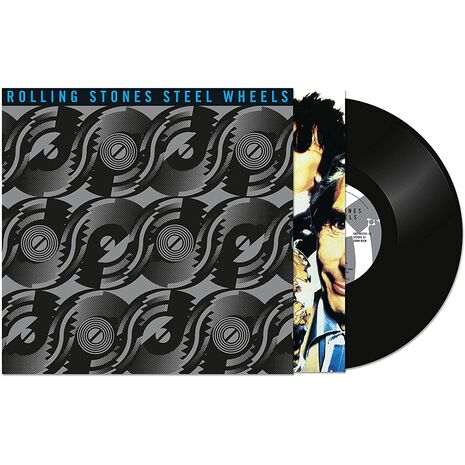 STEEL WHEELS LIVE - 4LP SET LIMITED EDITION BLACK VINYL