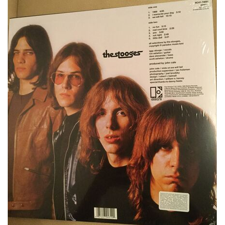 THE STOOGES - CLEAR & BLACK SWIRL EDITION