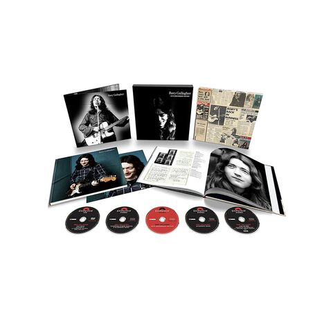 RORY GALLAGHER (4CD+DVD BOX)