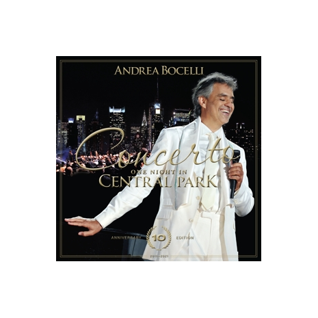 CONCERTO ONE NIGHT IN CENTRAL PARK - 10TH ANNIVERSARY (CD +DVD)