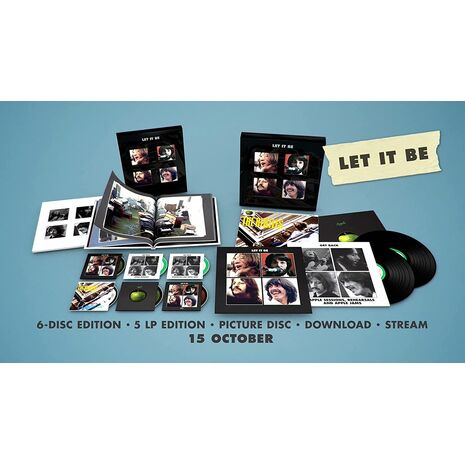 LET IT BE - 2021 Edition / 5cd+Blry