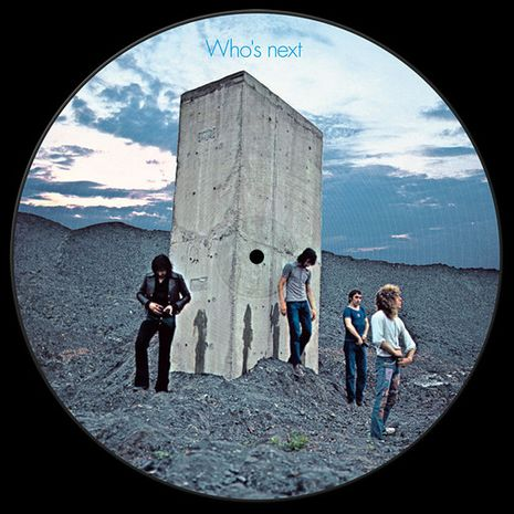 WHO'S NEXT - PICTURE DISC - LTD